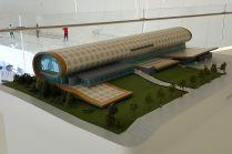 Heydar Aliyev Center - wystawa miniatur