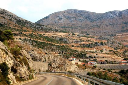 krajobrazy w południowo - wschodniej części kraju