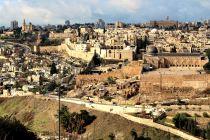 panorama Jerozolimy z Góry Oliwnej