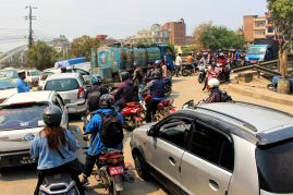 Kathmandu - okolice Durban Square