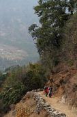 szlak Lukla - Phakding