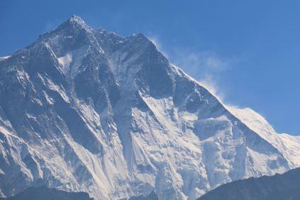 Namcze Bazar - Sanasa (widok na Lhotse)