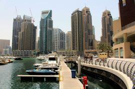 Północno-wschodnia część Dubaj Marina