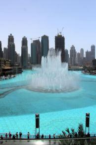 The Dubai Dancing Fountain
