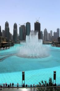 The Dubai Dancing Fountain