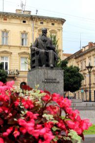 Pomnik Mychajła Hruszewskiego