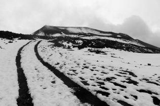 zejście z Etny