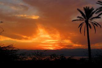 zachód słońca w Swemeh
