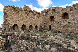 Południowa część zamku Al-Karak