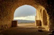 Północna część zamku Al-Karak