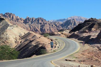 Jordania w tydzień - przejazd przez Rezerwat Biosfery Dana