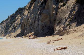 Plaże zachodnie - Egremni Beach