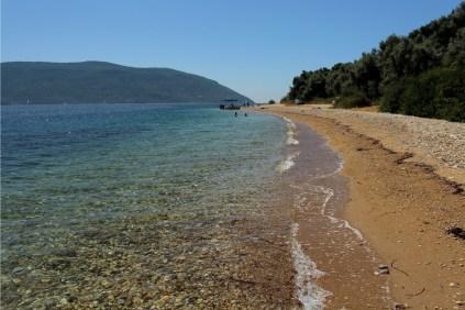 Południowe wybrzeże - plaża Kamari