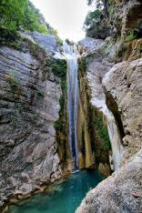 Lefkada centralna - Wodospad Nidri