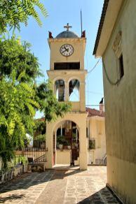 Lefkada centralna - miejscowość Karia
