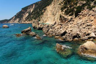 wyspa Itaka - wild beach