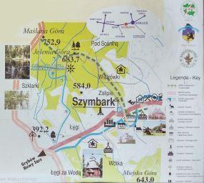 Atrakcje i szlaki Szymbarku