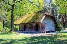 Łotewskie Muzeum Etnograficzne - zabudowa mieszkalna