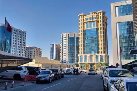 Doha - wschodnia zabudowa miasta