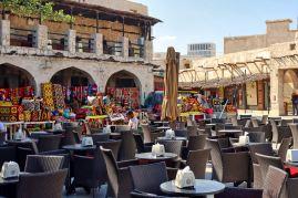 Doha - Esherej Cafe Souq Wakef