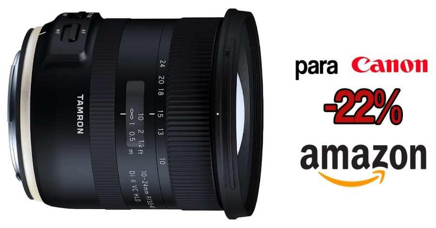 Tamron 10-24mm Canon oferta