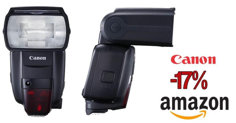 Oferta del Canon Speedlite 600EX.