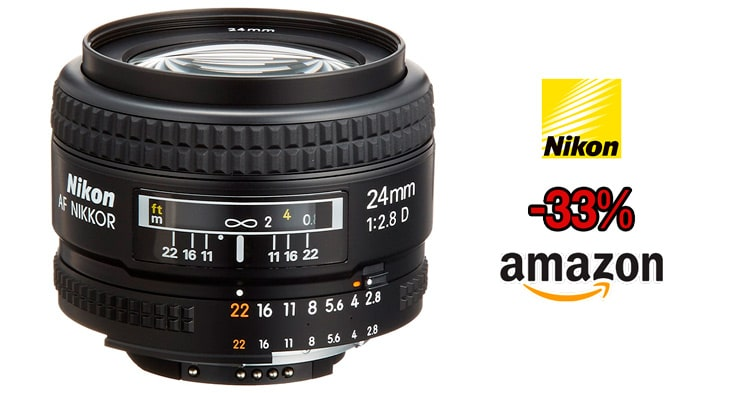 Nikon 24mm AF precio mínimo.