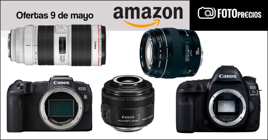 Foto-ofertas Canon 9 de mayo.