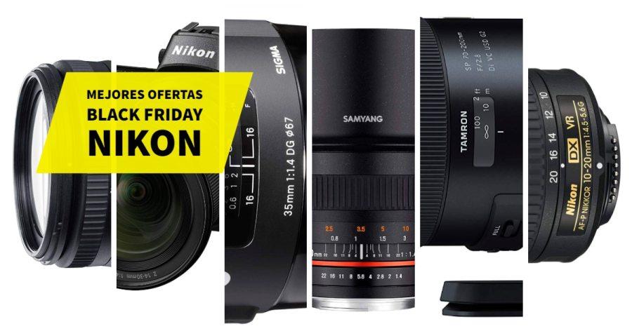 Mejores Ofertas Black Friday Nikon.