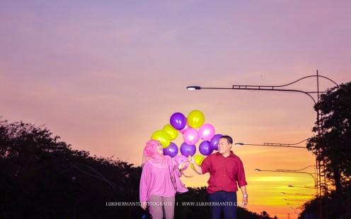 foto prewedding Balon