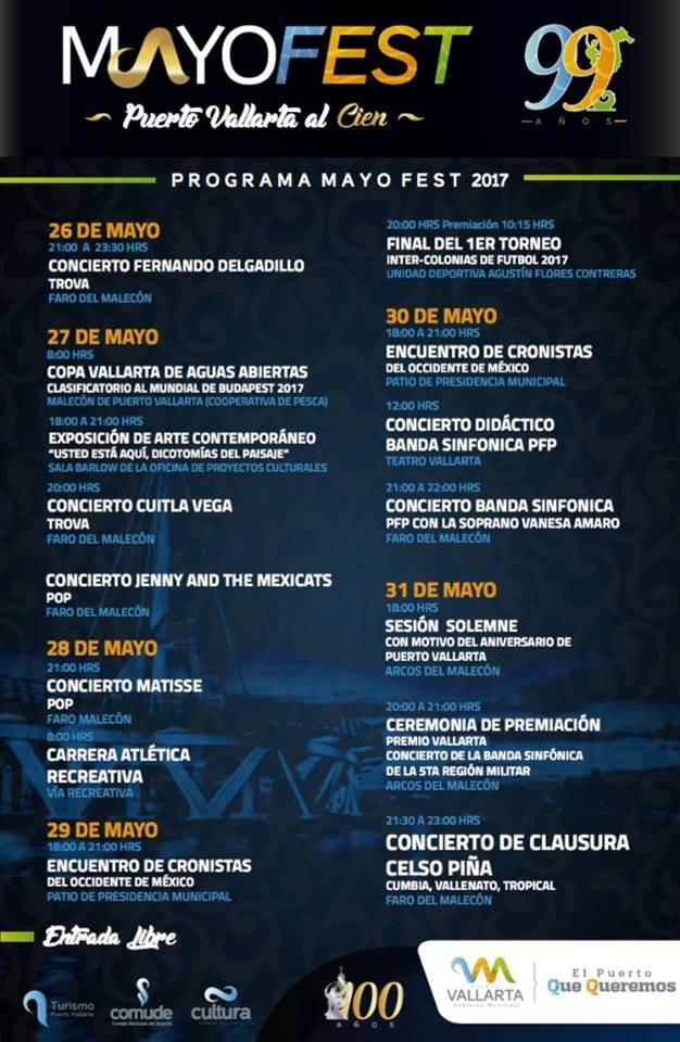 MayoFest en Puerto Vallarta