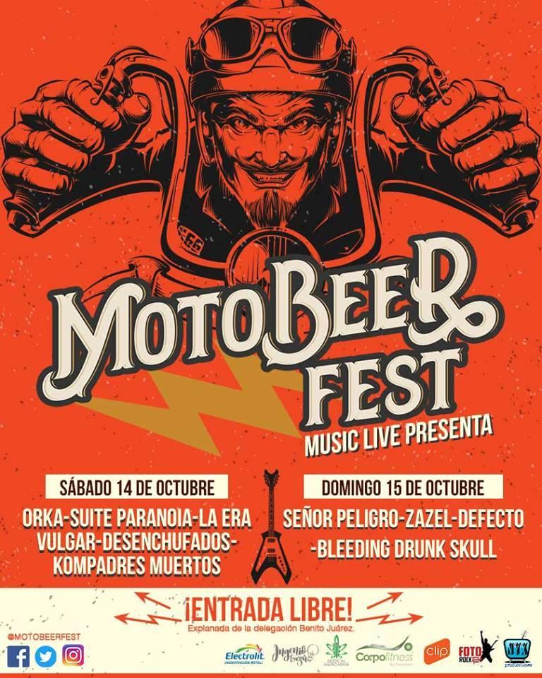 MotoBeer Fest cambia de fecha al 14 y 15 de Octubre