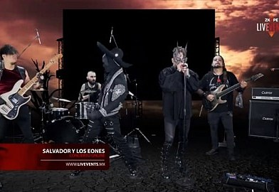 SALVADOR Y LOS EONES POR LIVE STREAMING