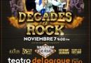 DECADES OF ROCK LO MEJOR DE LA MÚSICA EN EL TEATRO INTERLOMAS