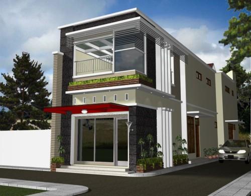 12 Koleksi Desain Rumah Minimalis Modern 2 Lantai