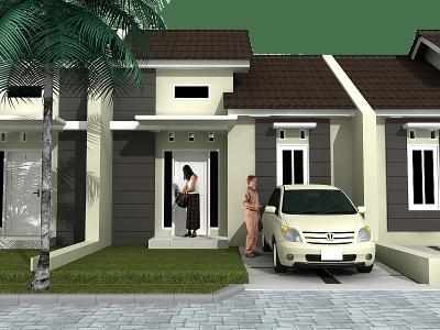 Desain Rumah Minimalis Type 36 Denah