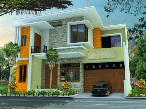 15 Desain Rumah Minimalis Modern 2 Lantai