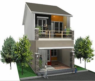 12 Gambar Rumah Minimalis Type 36 2 Lantai