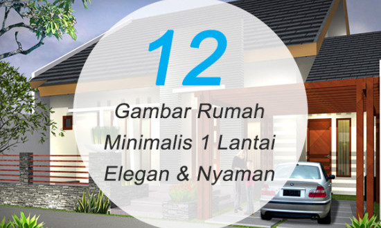 12 Gambar Rumah Minimalis 1 Lantai Modern 2019