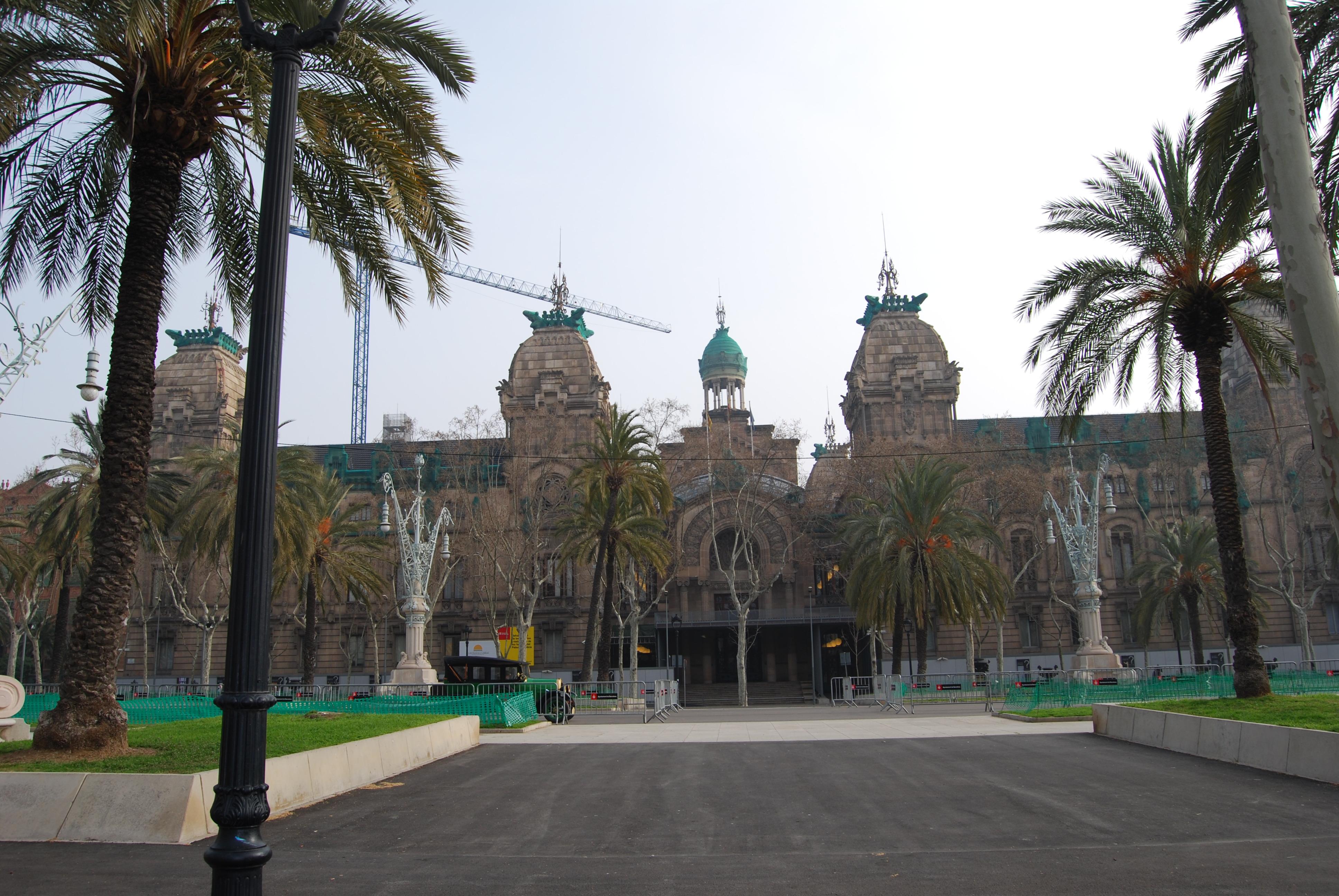 Resultado de imagen de palacio de justicia barcelona