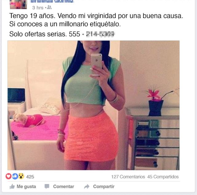 Resultado de imagen para venta de la virginidad adolescentes