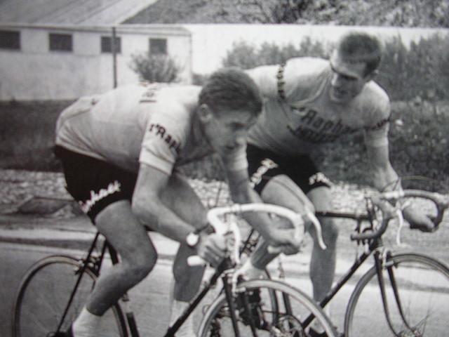 Rudi Altig e Jacques Anquetil, Trofeo Baracchi 1962