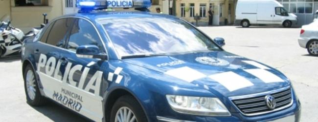El Volkswagen Phaeton de Gallardón, reconvertido en coche patrulla en Madrid