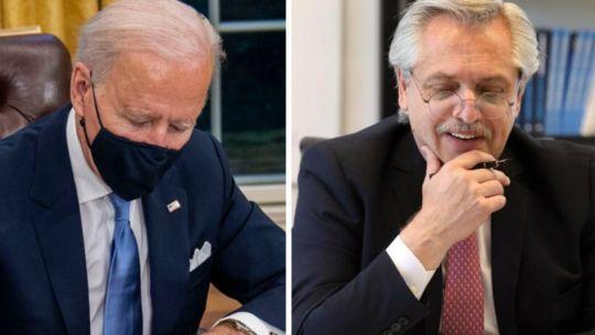 Joe Biden - Alberto Fernández
