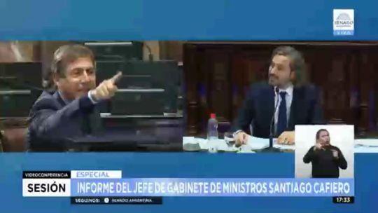 Cafiero y Luis Naidenoff  20210604