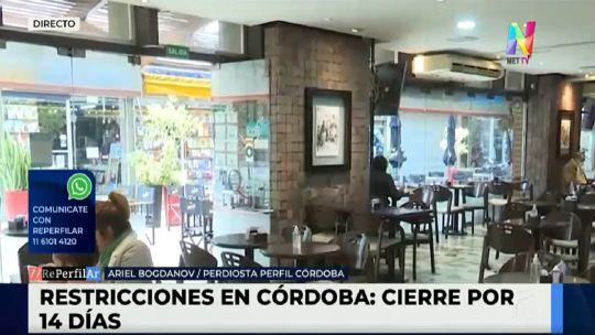Córdoba volverá a fase 1 por 14 días