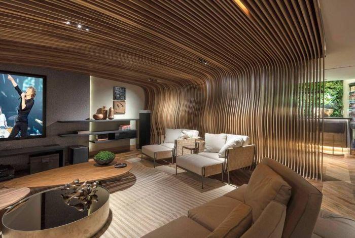 casas modernas sala
