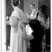 preparativi a casa della sposa