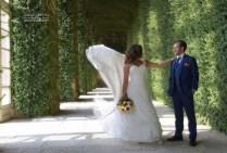 romantica: giardini del castello di Agliè