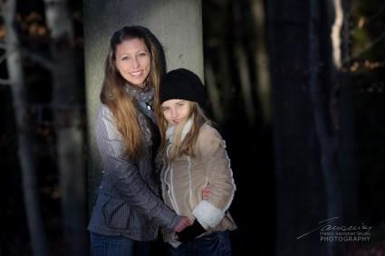 Nel bosco con mamma